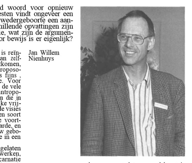 Robs trouwe vriend en collega Jan Willem Nienhuys, Skepter, Volume 2, #4, December 1989