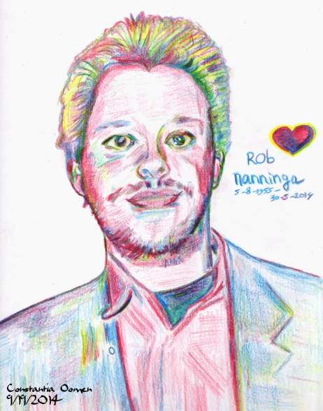 Rob Nanninga, door Constantia Oomen