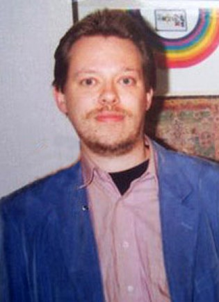 Rob Nanninga, rond 1992 - foto die Rob mij stuurde
