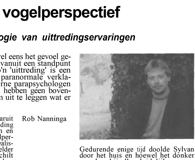 Rob Nanninga, Skepter, Volume 3, #1, March 1990