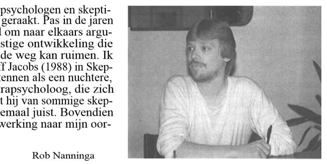 Rob Nanninga, Skepter, Volume 1, #3, September 1988