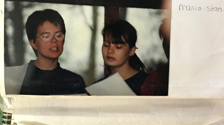 Maria en Stan (zo heette ik toen)