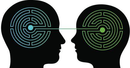 Twee-eenheid, telepathie