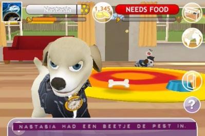 Robs virtuele hond Nastasia