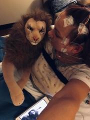 In de kabels en elektroden gelegd! Sleep Research Woodland 1, 22 november 2018