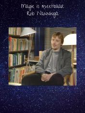 """Rob Nanninga, FOK onderschrift bij zijn pseudoniem """"Parameter"""""""